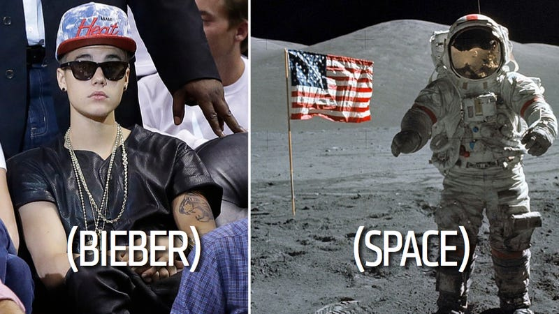 Illustration for article titled Justin Bieber To Be Fired Into Space Care Of Zany British Billionaire