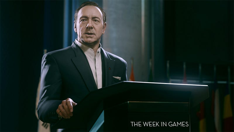 Illustration for article titled The Week In Games: The Call Of Spacey