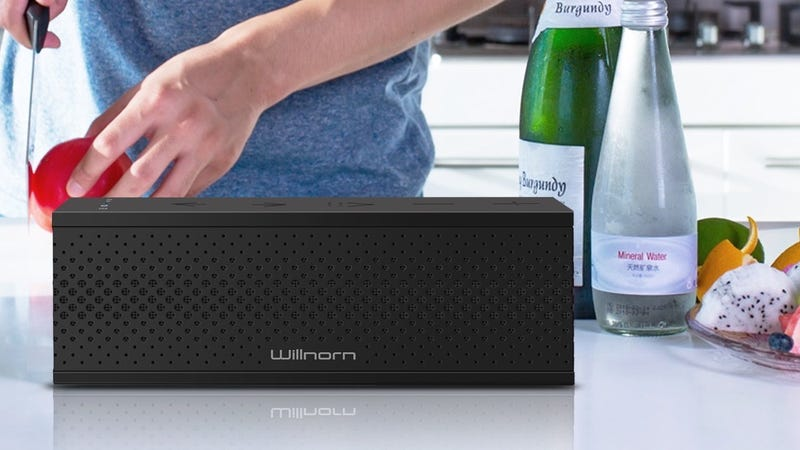 Willnorn SoundPlus X Wireless Multiroom Speaker, $18 with code HLFWBRL9. Get two or more for $16 each with code 44DVFSGS