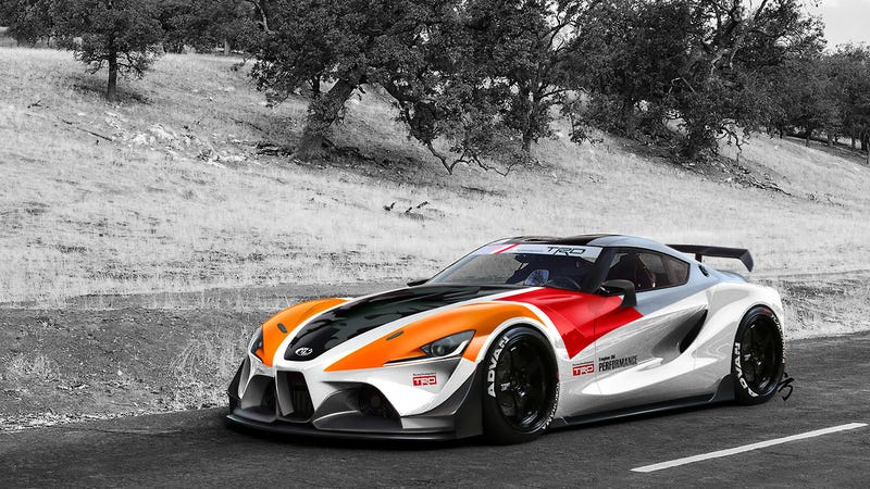 Illustration for article titled FT-1 in TRD livery