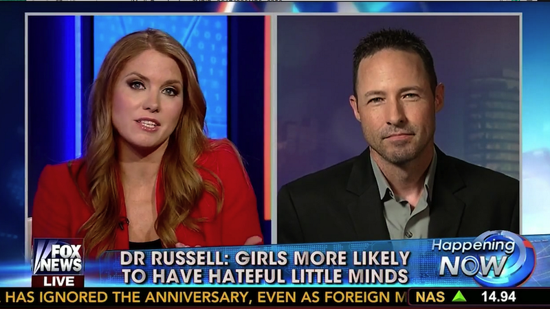 Illustration for article titled Fox News Is Fox News: 'Girls More Likely to Have Hateful Little Minds'