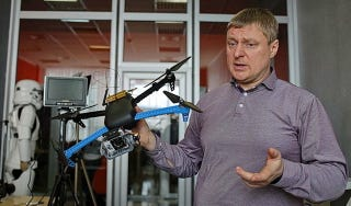 Illustration for article titled Volunteers Are Making 3D-Printed Aerial Drones For The Ukrainian Army