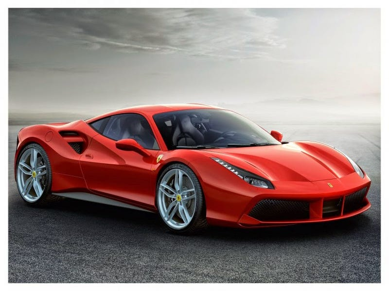 Illustration for article titled HEAR The New Ferrari 488!!