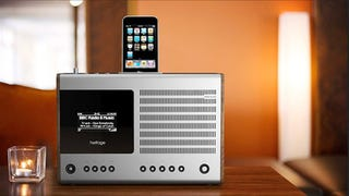 Illustration for article titled Revo's Retro Heritage iPod Dock Is A 60s Throwback With An OLED Screen