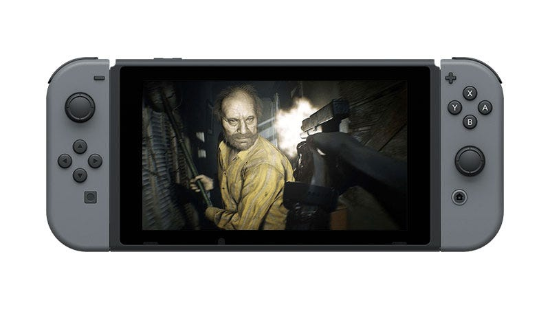 Illustration for article titled Resident Evil 7 Is Coming To Nintendo Switch As A Streaming Game
