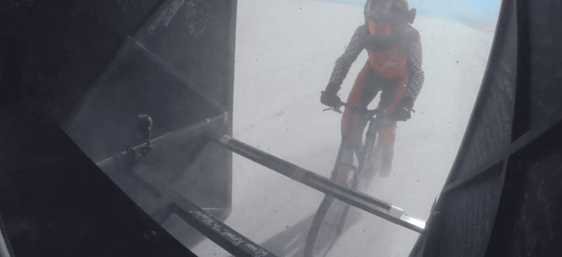 Denise Mueller-Korenek Hits 184 MPH on a Bicycle and Sets New Land Speed Record