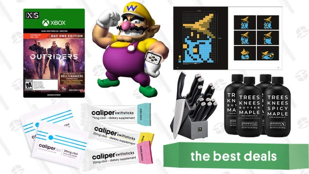 Friday s Best Deals: Apple Watch SE, Outriders for Xbox, Henckels Knife Set, Caliper CBD Powder, Final Fantasy Pixel Art Book, and More