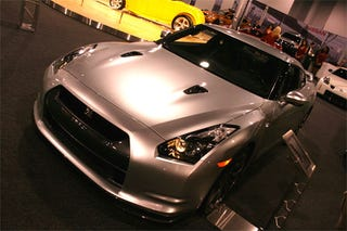 Illustration for article titled Nissan Gets Ballsy, Breaks Out Bone-Stock GT-R For SEMA