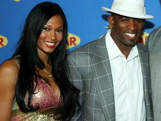 Pilar and Deion Sanders (Ethan Miller/Getty Images)