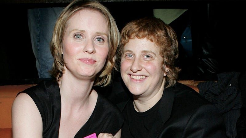 Illustration for article titled Cynthia Nixon Finally Marries Girlfriend Christine Marinoni After a Three-Year Engagement