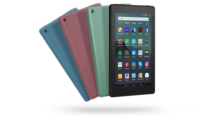 Illustration for article titled Nueva Fire 7: Amazon mejora su tablet de $50 con el doble de almacenamiento
