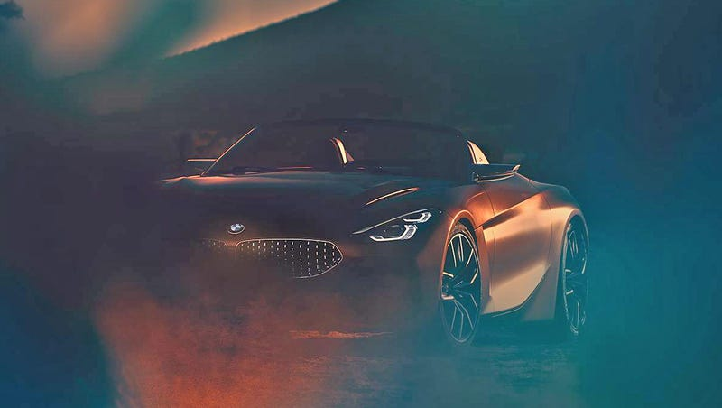 Here's your first look at the BMW Z4 Concept
