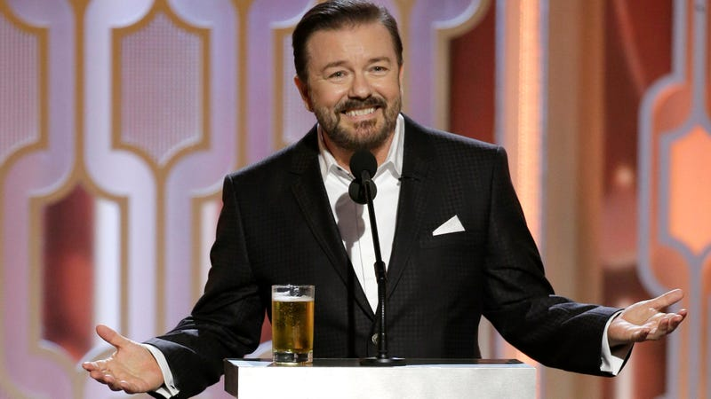 Illustration for article titled Ricky Gervais Loves That You're Offended By His Trans Jokes