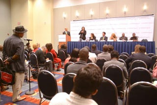 The Global Competitiveness and Minority Business Development and Entrepreneurship session at the Congressional Black Caucus Foundation, Inc. 44th Annual Legislative Conference at the Washington Convention Center Wednesday, September 24, 2014.NICOLE L. CVETNIC/The Root