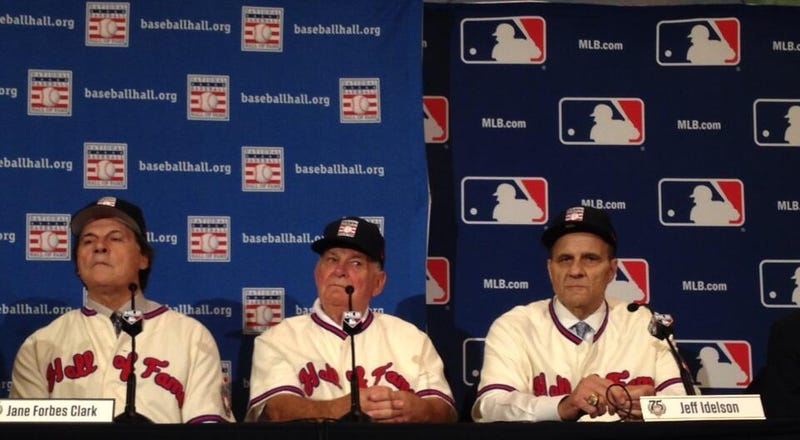 Illustration for article titled Tony La Russa, Bobby Cox, Joe Torre Elected To Hall Of Fame
