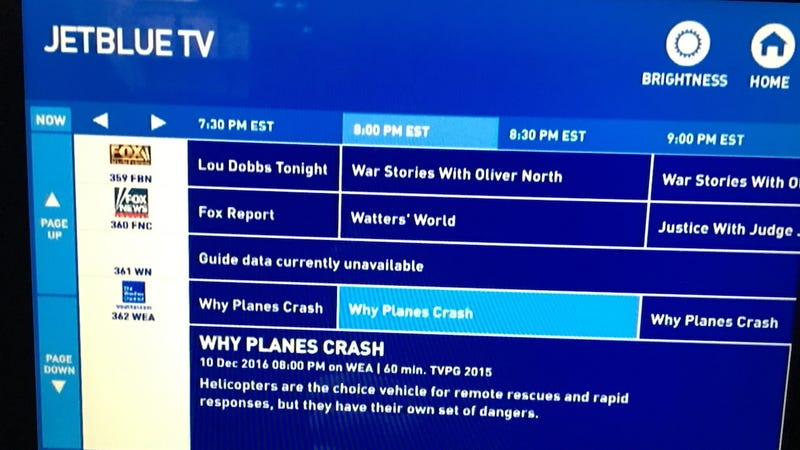 Illustration for article titled JetBlue Invites Passengers to Watch Fun Show Called Why Planes Crash