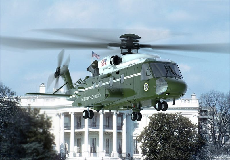 Illustration for article titled Marine One Redux