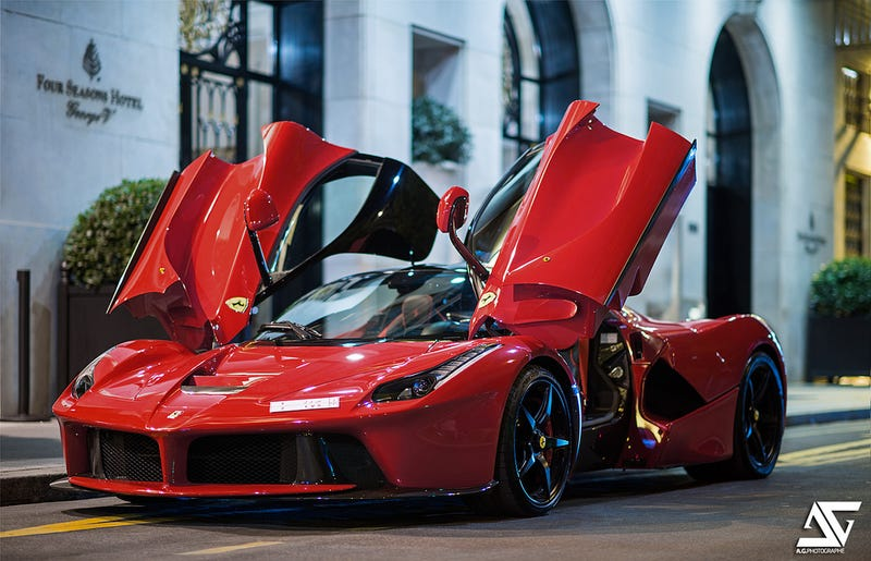 Illustration for article titled Confirmed: the LaFerrari will come to the PH, guess who owns it?