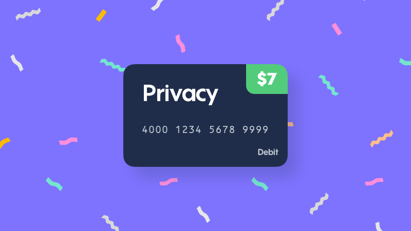 Illustration for article titled Protect Yourself Online With A Virtual Burner Card From Privacy.com + Earn a $7 Free Credit