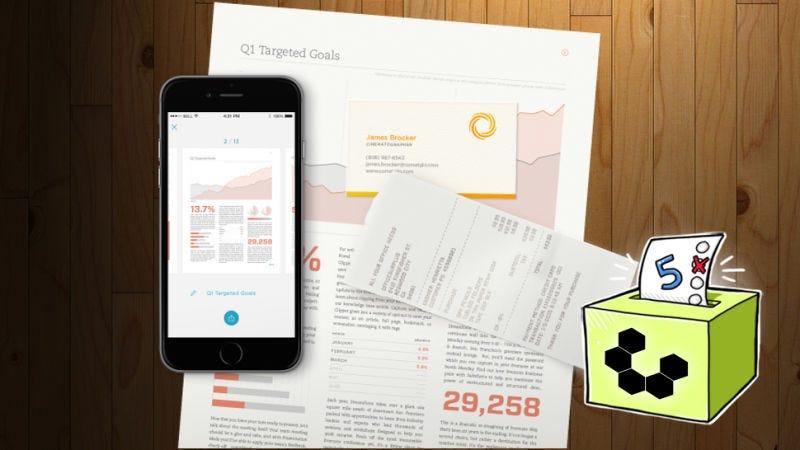 Las cinco mejores aplicaciones para escanear documentos usando tu móvil