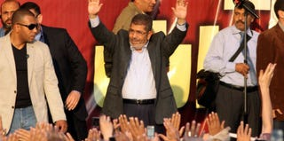 Egyptian President Mohamed Morsi (AFP/Getty Images)
