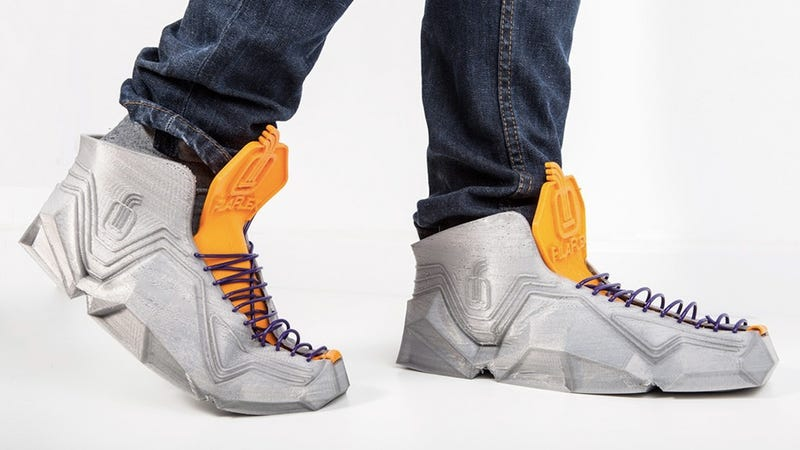 Illustration for article titled A New Flexible Filament Lets You 3D-Print Custom Sneakers