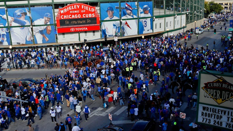 Illustration for article titled 911 Call Data Confirms Wrigleyville Is A Terrible Place To Be During Cubs Games