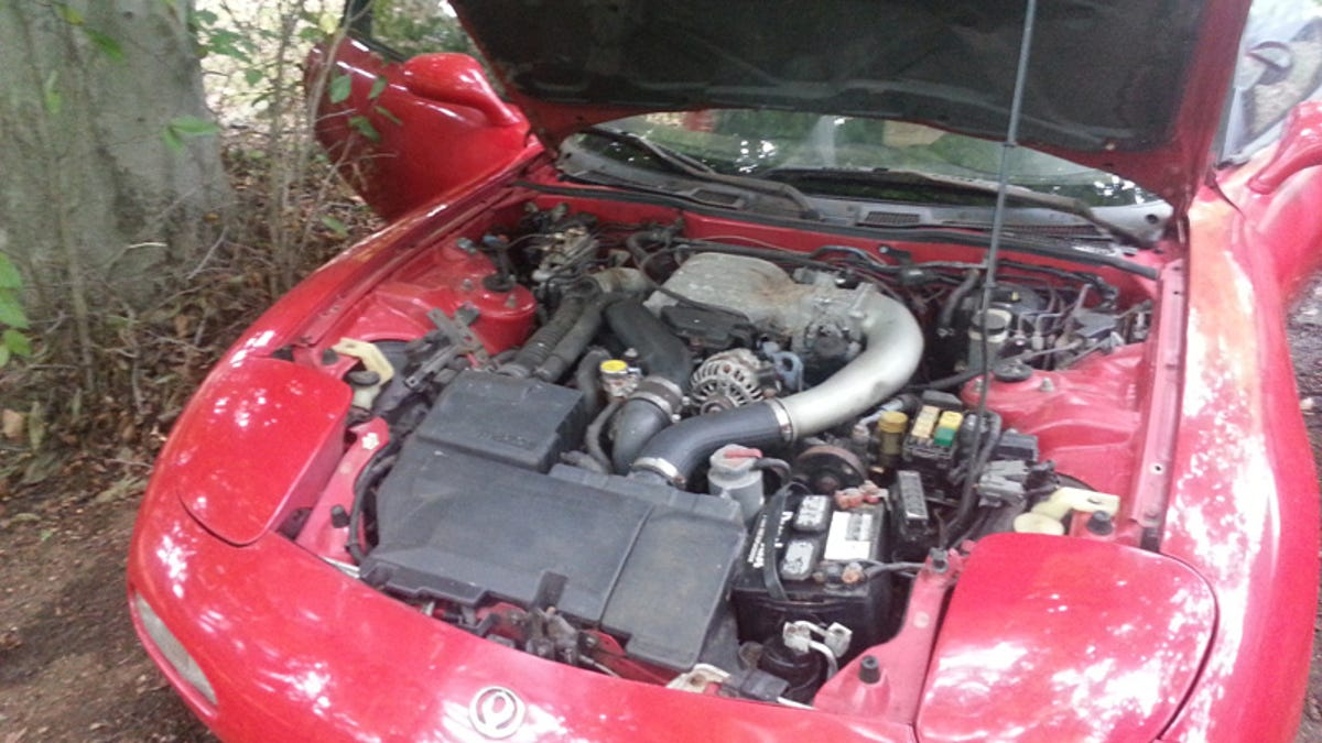 Heres How I Bought And Sold A Mazda Rx 7 That Sat In Yard For 1987 Engine Diagram Decade
