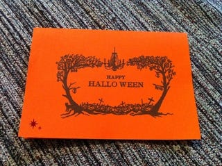 Illustration for article titled Halloween, But With Invitations