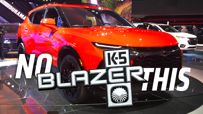 Illustration for article titled The 2020 Chevy Blazer Is So Disappointing It Hurts a Bit
