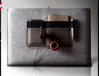 Illustration for article titled Hard Graft's U MacBook Sleeve Has Actual Style