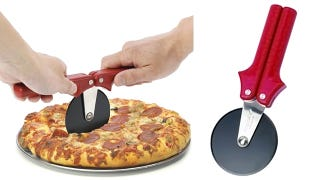 Illustration for article titled Folding Pizza Wheel Provides Extra Crust Cutting Leverage: Brilliant or Idiotic?