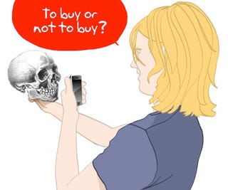Illustration for article titled Ultra Late Adopter: Why I Don't Want an iPhone... But Will Probably Cave Anyway