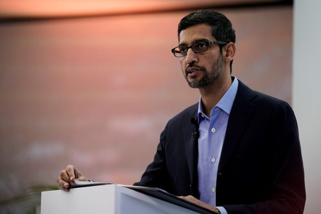 Alphabet CEO Sides With EU on Facial-Recognition Tech Moratorium, But Microsoft Isn t Convinced