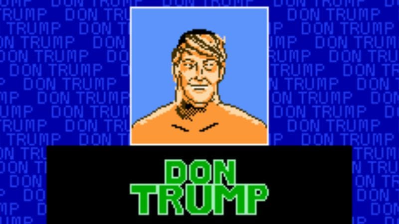 Illustration for article titled Defeat the Donald and make video games great again with Trumptendo