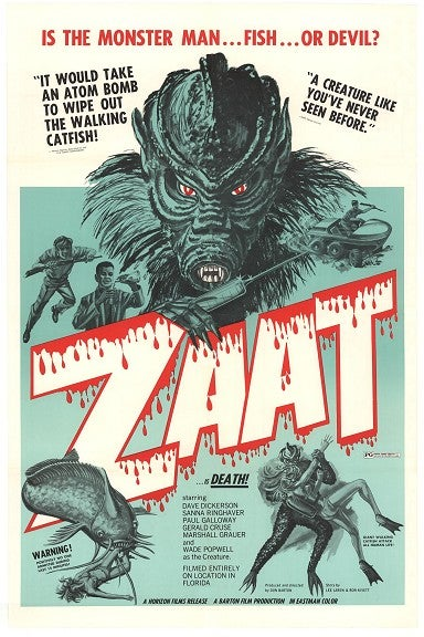 Illustration for article titled The Blood Waters of Dr Z (aka Zaat) is a true cinematic shit fest..