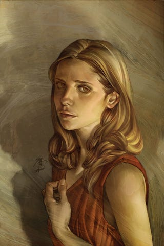 Illustration for article titled The secret revealed: Gaze into the face of Buffy's ultimate foe!