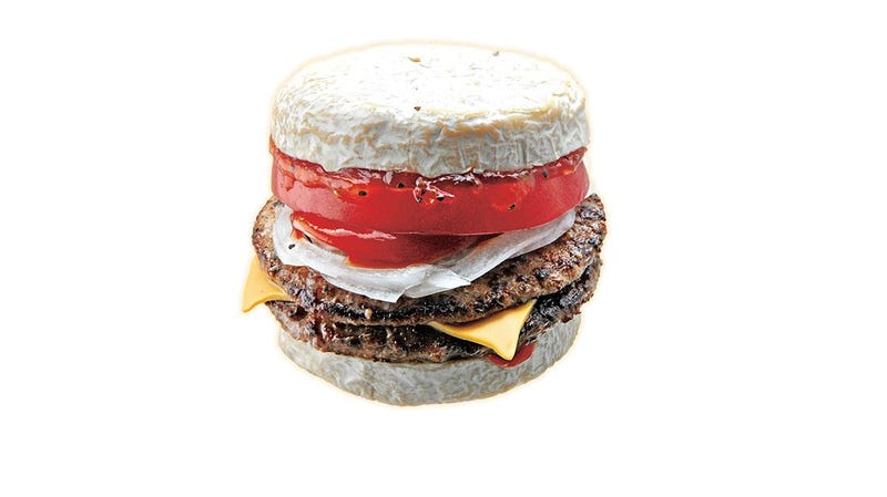 Illustration for article titled This Cheeseburger Is Not Screwing Around