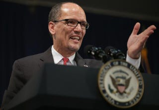 U.S. Secretary of Labor Thomas PerezPhoto by Chip Somodevilla/Getty Images