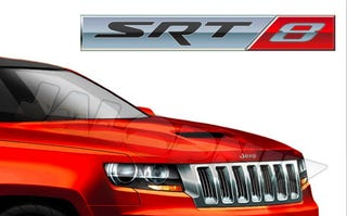 Illustration for article titled 2012 Jeep Grand Cherokee SRT8: Exclusive First Look!