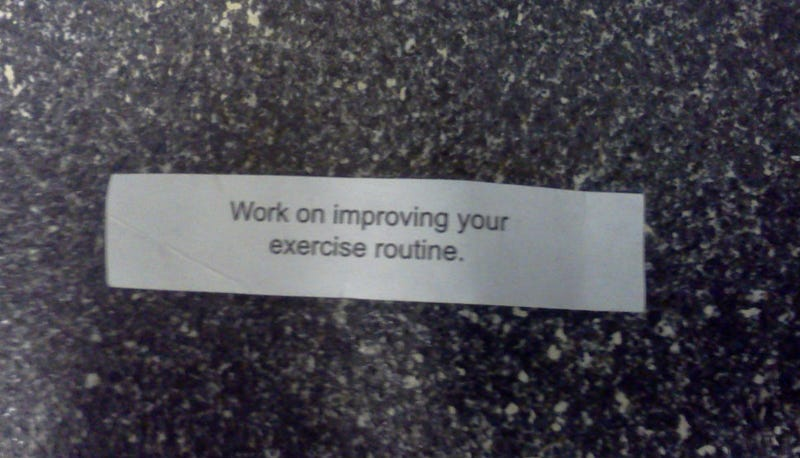 Illustration for article titled This Is The Most Obnoxious Fortune Cookie Fortune I Have Ever Received