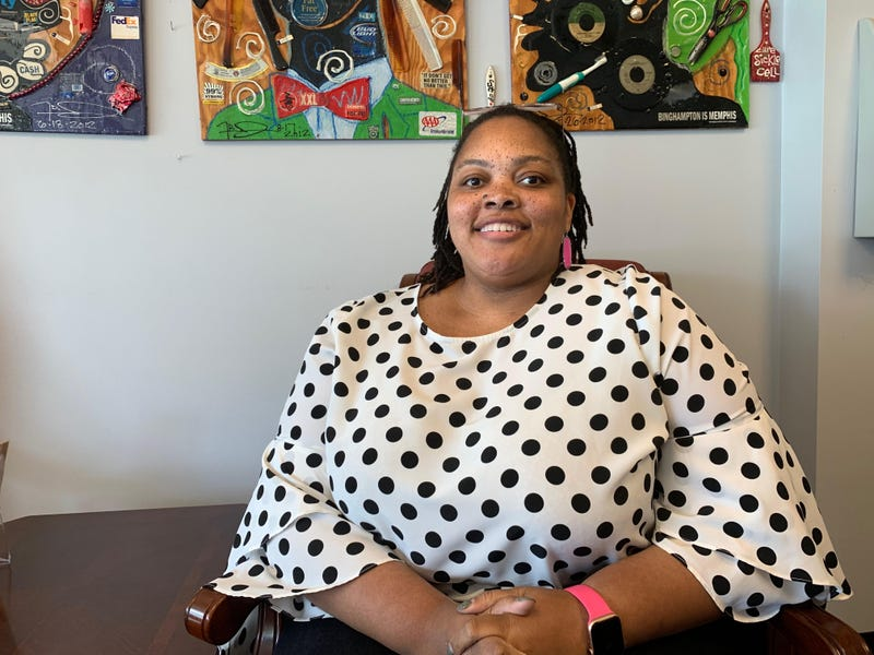 Shelby County Commissioner (District 7) Tami Sawyer in downtown Memphis on May 16, 2019.