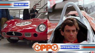 Illustration for article titled Nick Mason's Car Collection and Did Senna Want To Leave F1 For CART?