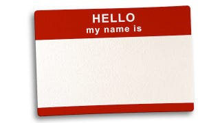 Start and End a Conversation with Someone's Name to Memorize It