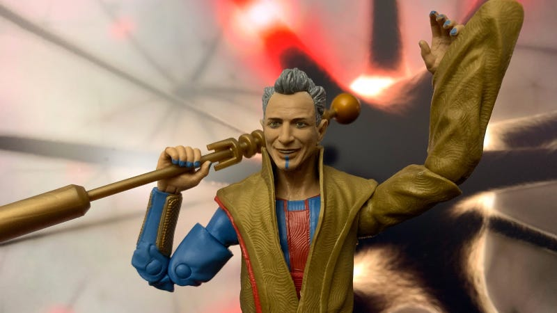 Marvel's Grandmaster Figure Perfectly Captures Jeff Goldblum's Goofy Charm