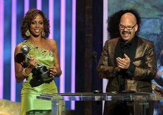 Holly Robinson Peete and Tom Joyner (Getty Images)