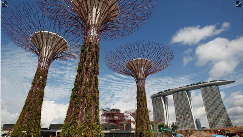 Illustration for article titled Singapore will soon become more garden than city