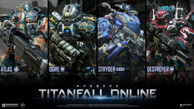 Illustration for article titled Titanfall Online Is Coming To South Korea