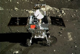 Illustration for article titled China's Lunar Rover Only Lasted a Month