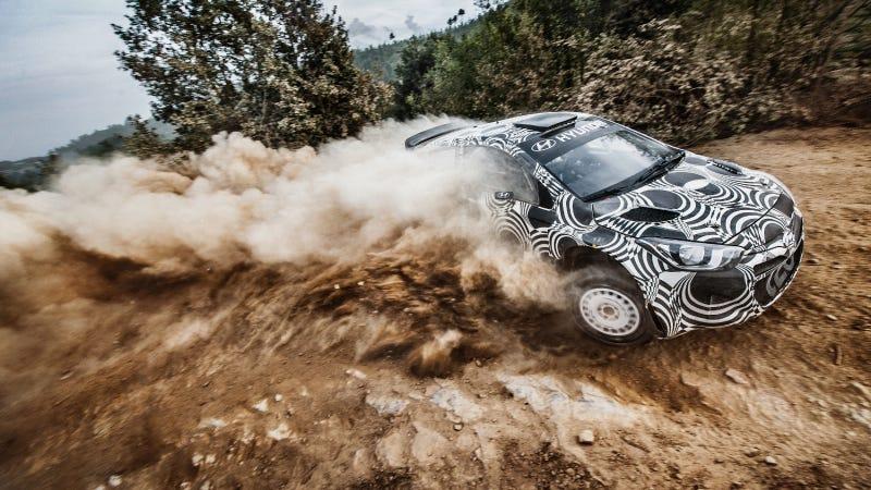 Illustration for article titled Hyundai Motorsport Accelerates Development Of The i20 WRC